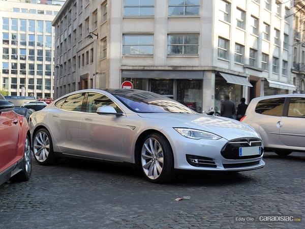 Photos du jour : Tesla Modèle S