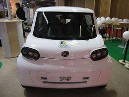 En direct du Mondial de Paris : la nouvelle SimplyCity SC4P électrique à partir de 12990 euros