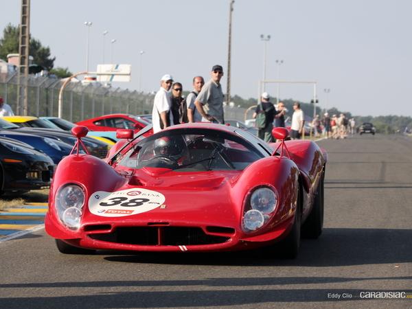 Photos du jour : Ferrari P3 (Le Mans Classic)