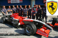 Midland avec Ferrari?