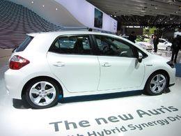 En direct du Mondial de Paris : une Auris hybride mais pas de Yaris hybride, peut-être au Salon de Genève 2011 ?