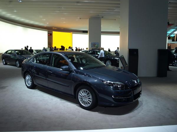 Mondial de Paris 2010 : Renault Laguna Restylée