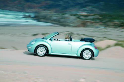 Volkswagen New Beetle Cabriolet : prévoyez le maillot de bain