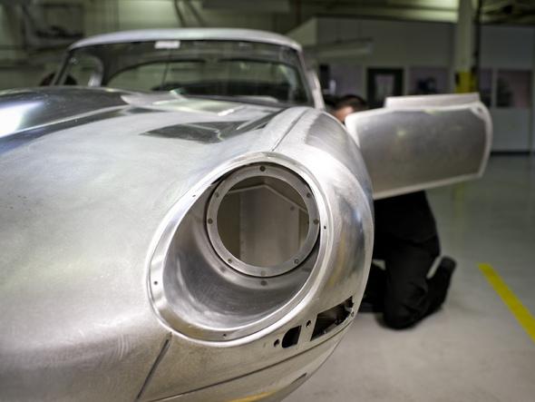 """Rapid'news - La """"nouvelle"""" Jaguar Type E lightweight affichée à un million..."""
