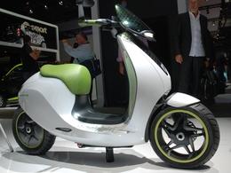 Mondial de l'auto 2010, en live : le e-Scooter selon Smart