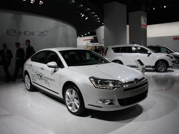 Mondial de Paris 2010 : Citroën C5 restylée : à l'allemande