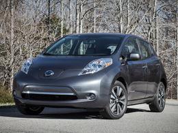 La Nissan Leaf améliorée pour le salon de Detroit