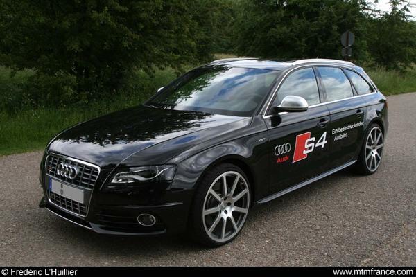 Audi S4 3.0l TFSI, déjà préparée par MTM