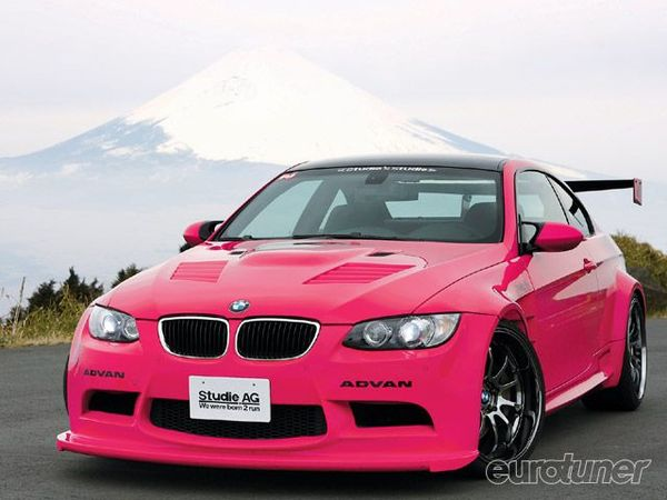 bmw m3 e92 sauce japonaise le rose c 39 tait obligatoire. Black Bedroom Furniture Sets. Home Design Ideas