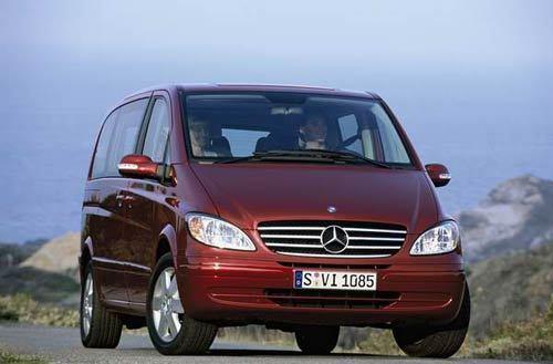 Mercedes Viano : le nouveau Classe V