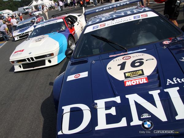 Photos du jour : Bmw M1 (Le Mans Classic)