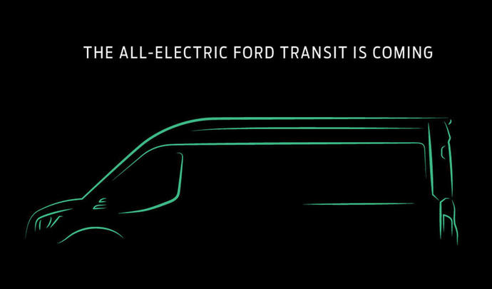 Ford confirme son utilitaire électrique Transit pour 2022