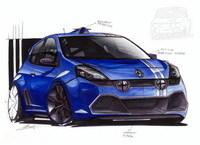 Voici une vision de la Clio RS Gordini, vous aimez ?