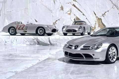 Mercedes SLR : une super sportive pour l'automne