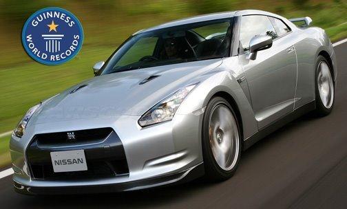 La Nissan GT-R est officiellement la voiture quatre places la plus rapide du monde