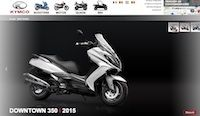 Kymco relooke son site internet