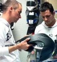 Moto GP - Ducati: Nouvelle moto et nouveau casque pour Randy De Puniet