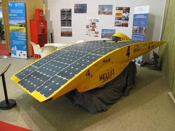 En direct du Mondial de Paris : l\'Hélios IV exposé et l\'Hélios V en ...