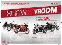 Calendrier : le Honda Show Vroom