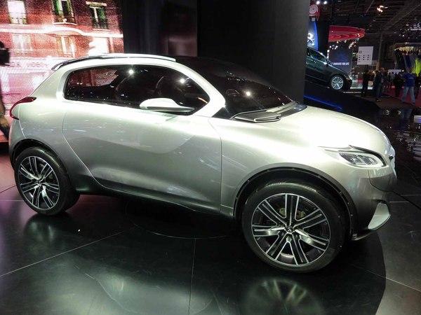 En direct du Mondial de l'auto 2010 : Peugeot HR1, l'hybride essence