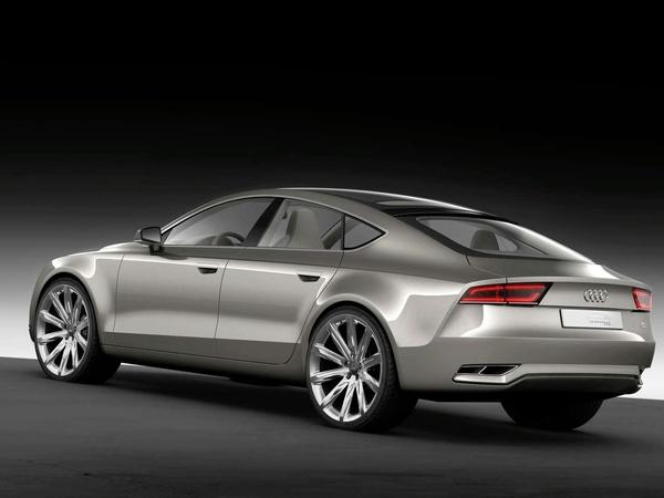 Audi A7 Sportback: pour fin 2010