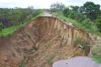 la conduite au Congo: Quand la nature dicte ses règles.