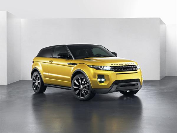 Range Rover Evoque Sicilian Yellow : tenue de printemps