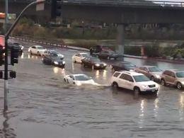 Insolite : il plonge sa Lamborghini dans une inondation
