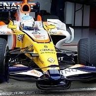 Formule 1 - Valence: La R28, exemplaire unique à se partager