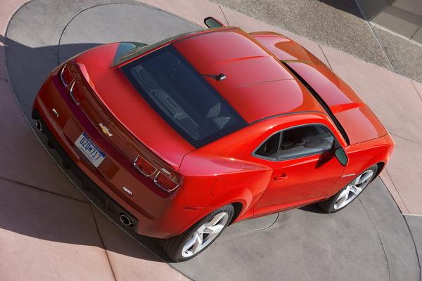 La Chevrolet Camaro sera exportée en Europe !