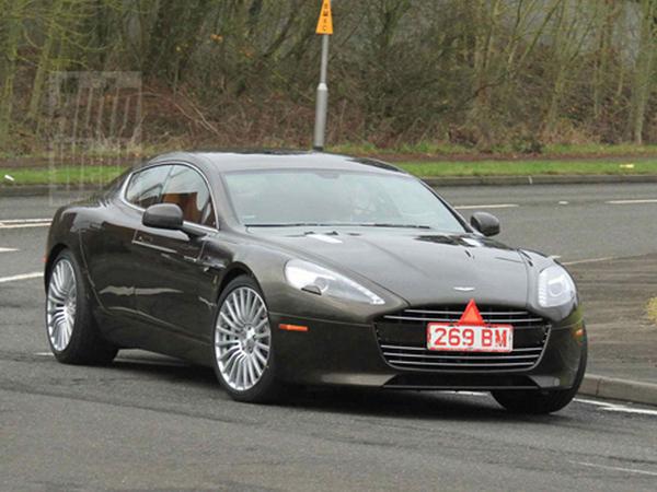 Surprise : l'Aston Martin Rapide S sans camouflage