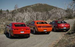 Marché USA : la Camaro mieux que la Mustang mais Ford mieux que New GM