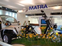 Mondial de l'auto 2010, en live : Auto, scooter et vélo pour Matra