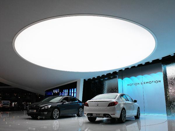 Mondial de Paris 2010 Live : Peugeot 508, à partir de 22.900€