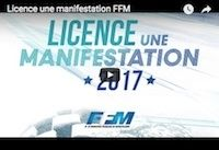 FFM: une licence une manifestation en quelques clics (vidéo)