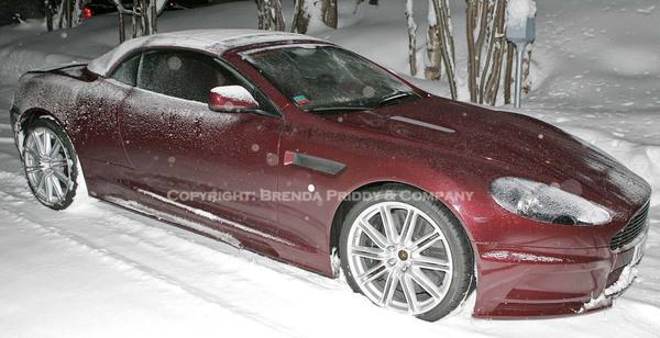 Future Aston Martin DBS Volante : débusquée !