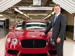 Résultats 2012 - Bentley : le V8 cartonne, plus de 8500 ventes