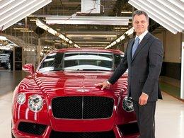 Résultats 2012 - Bentley : le V8 cartonne, plus de 8500 ventes