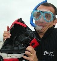 """Essai GS27 """"destructeur d'odeurs"""": tu veux sentir mes bottes?"""