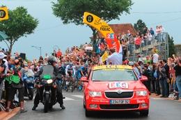 Skoda encore partenaire du Tour de France