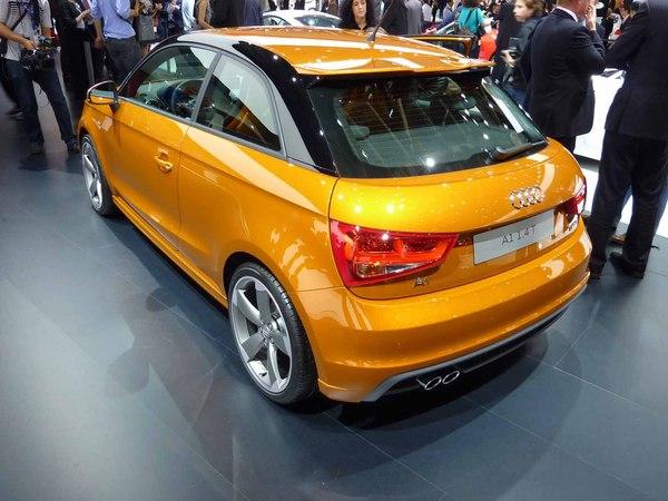 Mondial de Paris 2010 Live : Audi A1 1,4T S-Line, la couleur de l'or