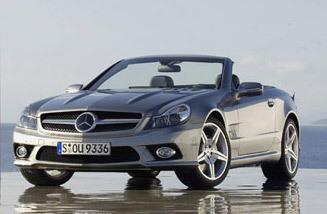 Nouvelle Mercedes SL Phase 3 en fuite: Retour vers le futur ! (nouvelles photos)