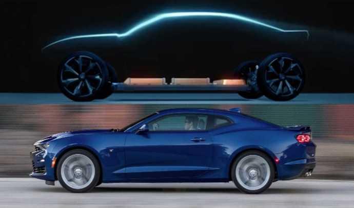 Chevrolet va-t-il se servir de la Camaro pour un véhicule électrique ?