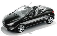 Peugeot 206 CC RC look: réservée aux Japonais!