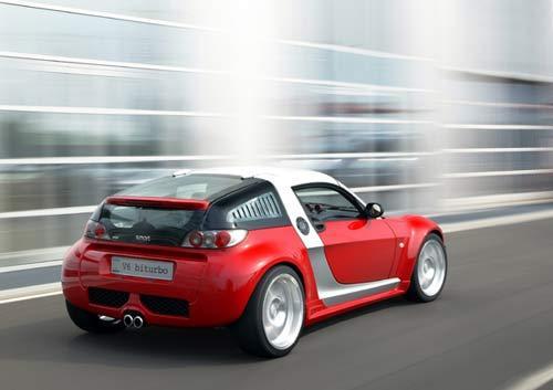 Une Smart V6 bi-turbo