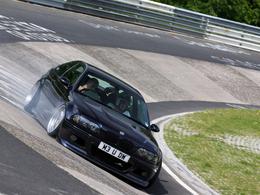 BMW M3 V10, l'outil idéal pour faire fumer les pneus (photos + vidéos)