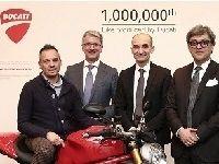 Célébration: la millionième Ducati produite est une Monster 1200 S