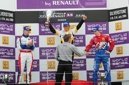 WSR Formula 3.5/Silverstone: Charles Pic renoue avec le succès!