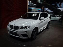 Mondial de Paris 2010 : BMW X3, star system