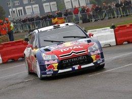 Sébastien Loeb mène le Rallye de France